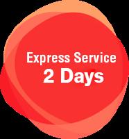 Express Service 2 Days